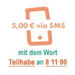 Spenden per SMS an 81190